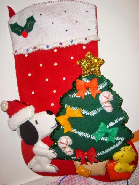 botitas navideñas