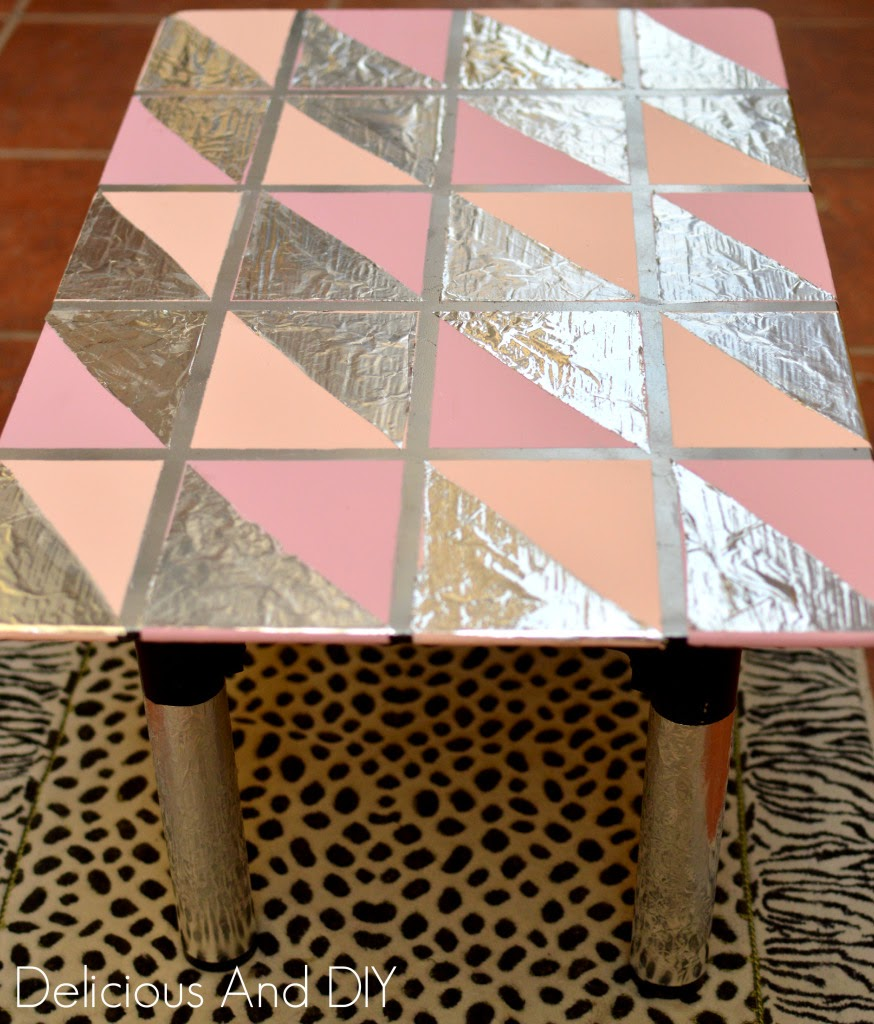 http://www.deliciousanddiy.com/2014/09/04/diy-faux-silver-leaf-table/