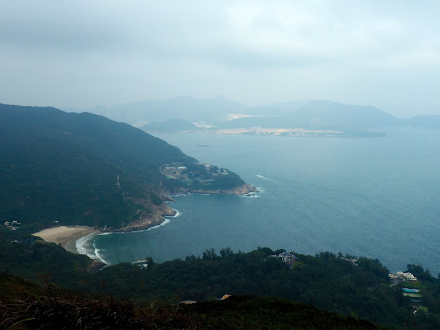 View of Big Wave Bay from Dragon's Back, Hong Kong Island