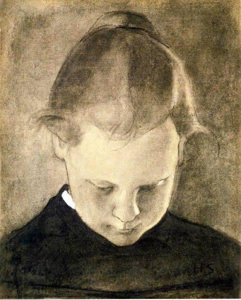 The Reading Girl. Helene Schjerfbeck