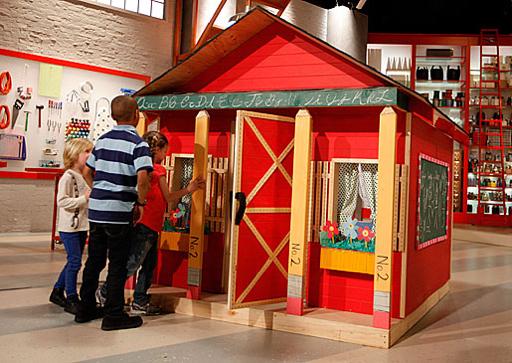 Aplaceimagined little red schoolhouse for School playhouse