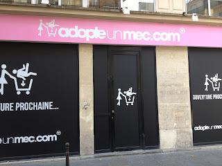 AdopteUnMec.com ouvre une boutique à Paris !