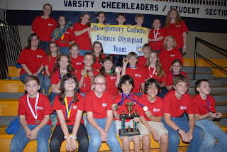Montgomery Catholic's St. Bede Team Competes at Alabama Elementary Science Olympiad 1