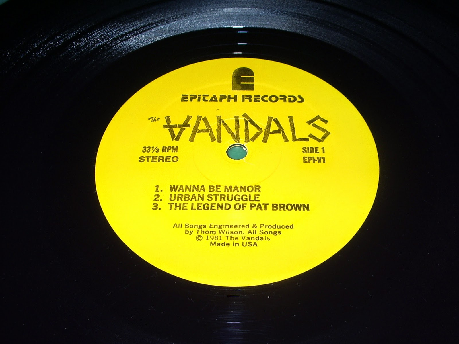 Black Insect Laughter The Vandals Quot Peace Thru