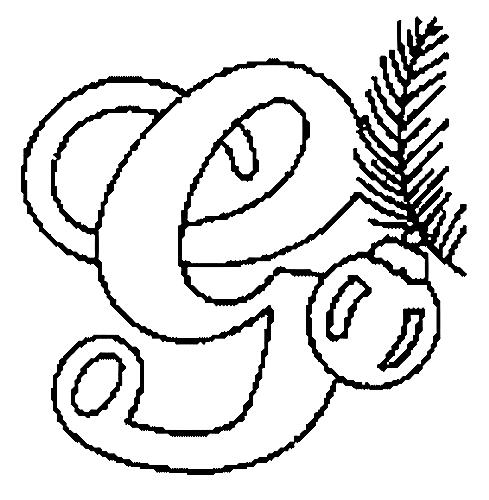 Desenhos Para Colori letras do alfabeto letra G desenhar