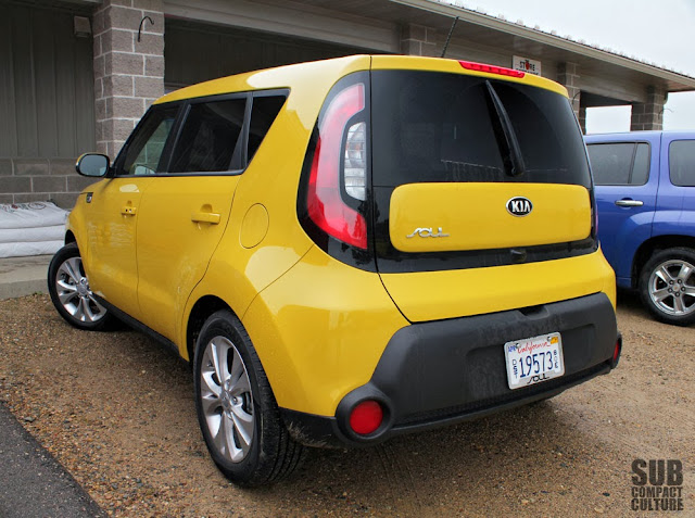 2014 Kia Soul in Yellow