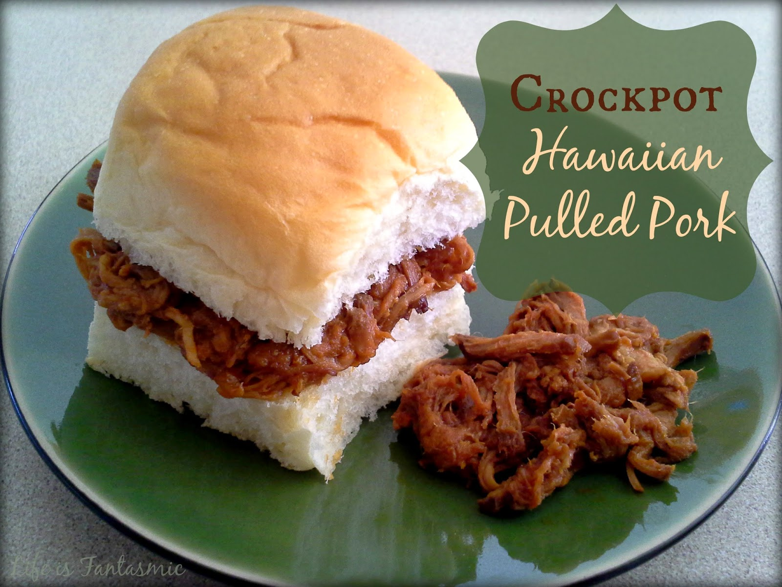 ... recipe for Slow Cooker Hawaiian Pulled Pork over at East 9th Street