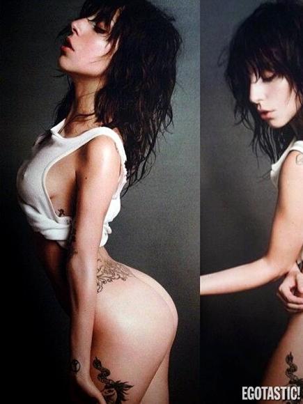 Lady Gaga nua para a Egostatic