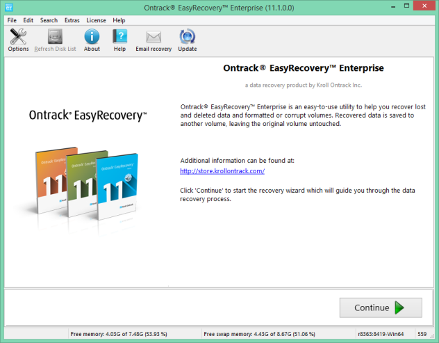Ontrack EasyRecovery Enterprise v11.1 Full Keygen