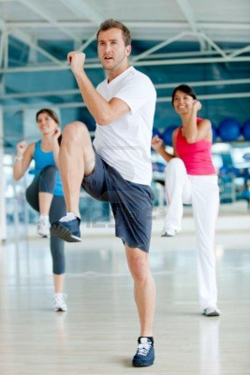 Actividad física, deporte y salud.: Aeróbic. Pasos básicos.