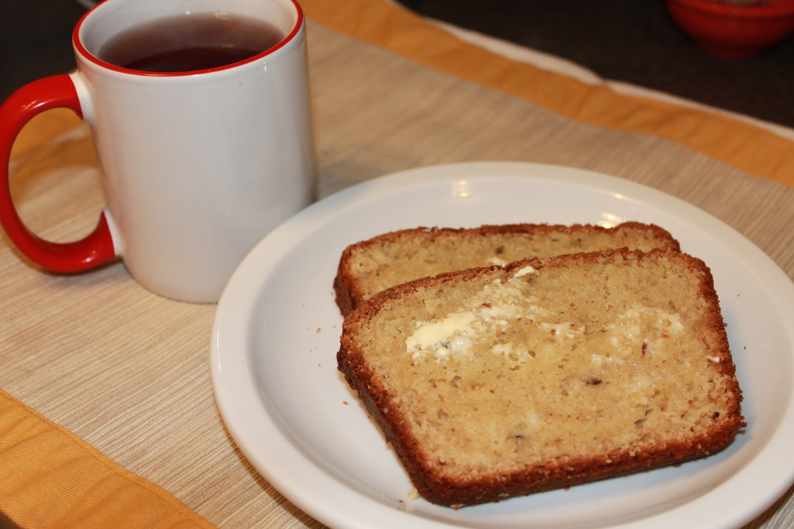 37 Cooks: French Cherry Yogurt Tea Bread
