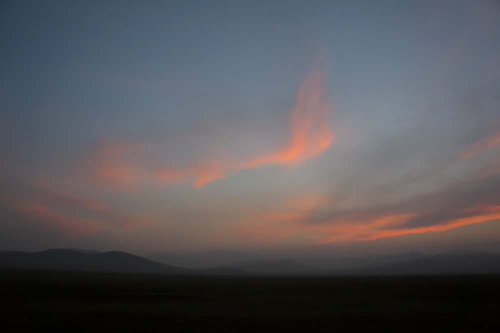 Gdzieś pośrodku dzikich stepów Mongolii