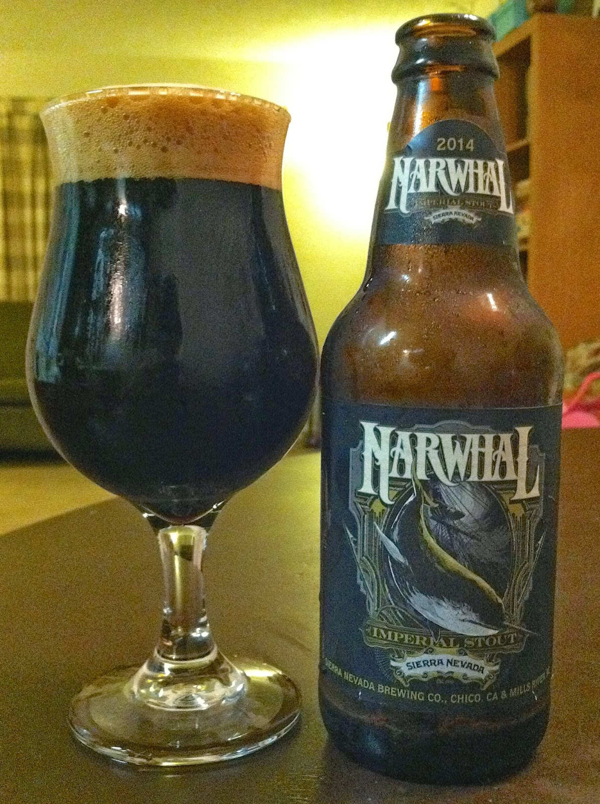 Sierra Nevada Narwhal Imperial Stout 1