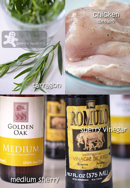 Bake for Happy Kids: Chicken with Sherry Vinegar and ...