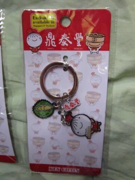 xiao long baos, steamed pork dumplings, Din Tai Fung, Restaurant, keychain, limited edition, collection, Asia, Singapore, Thailand, Durian, Tuk Tuk