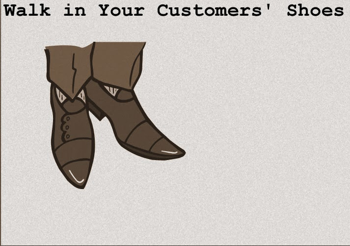 """Alpha Advertising: """"Walk in Your Customers' Shoes"""""""