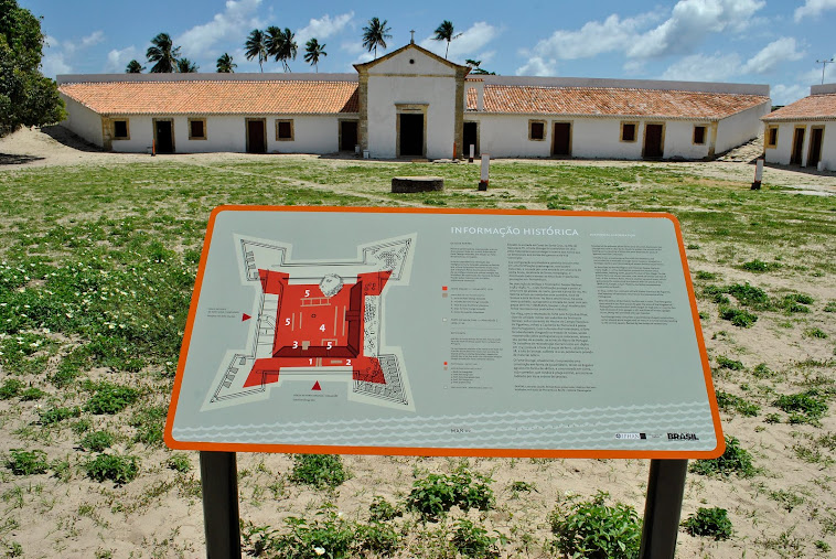 Praça d'Armas do Forte Orange - Ilha de Itamaracá