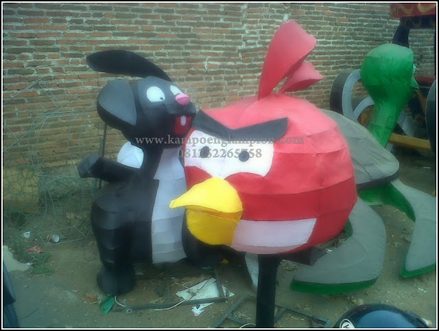 Lampion Angry Bird