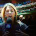 Monkey creeps up behind Giants reporter Amy Gutierrez
