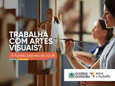 ATENÇÃO: CHAMAMENTO PARA ARTISTAS PLÁSTICOS DA PARAÍBA. A FUNESC PRECISA DE VOCÊ!