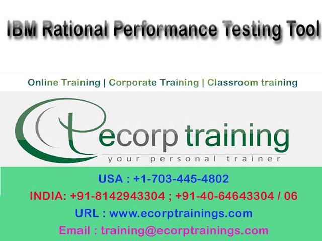 IBM Rational Performance Testing Tool online training