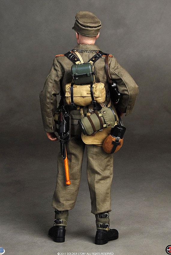 Breadbag Canteen /& Mess Kit 1:6 Soldier Story WWII Feldgendarmerie Des Heeres