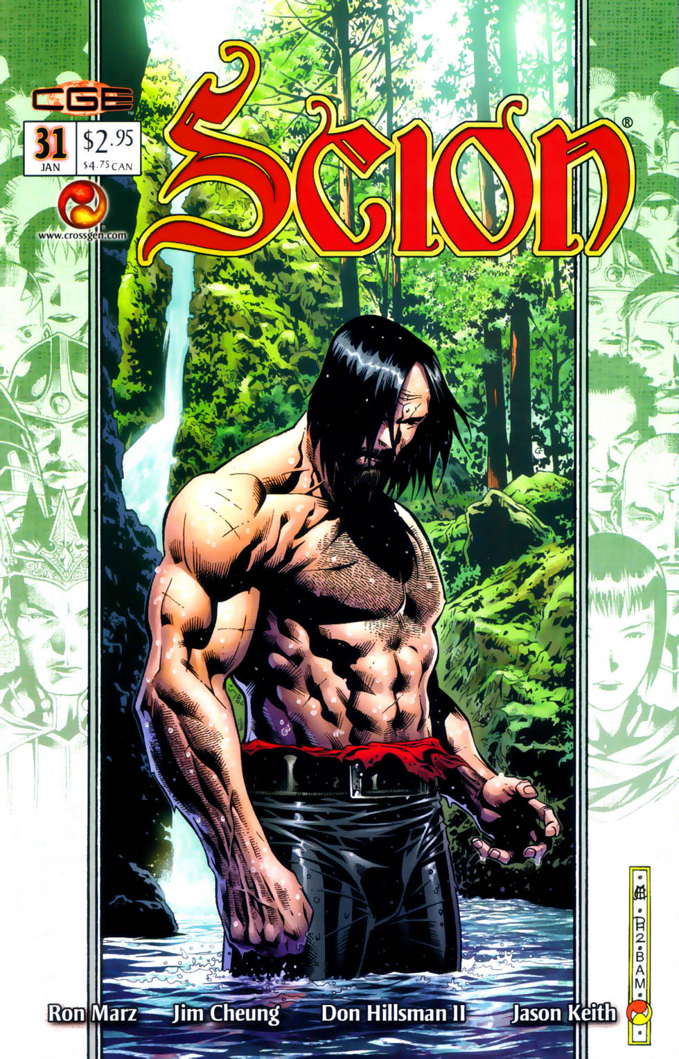 Read online Scion comic -  Issue #31 - 1