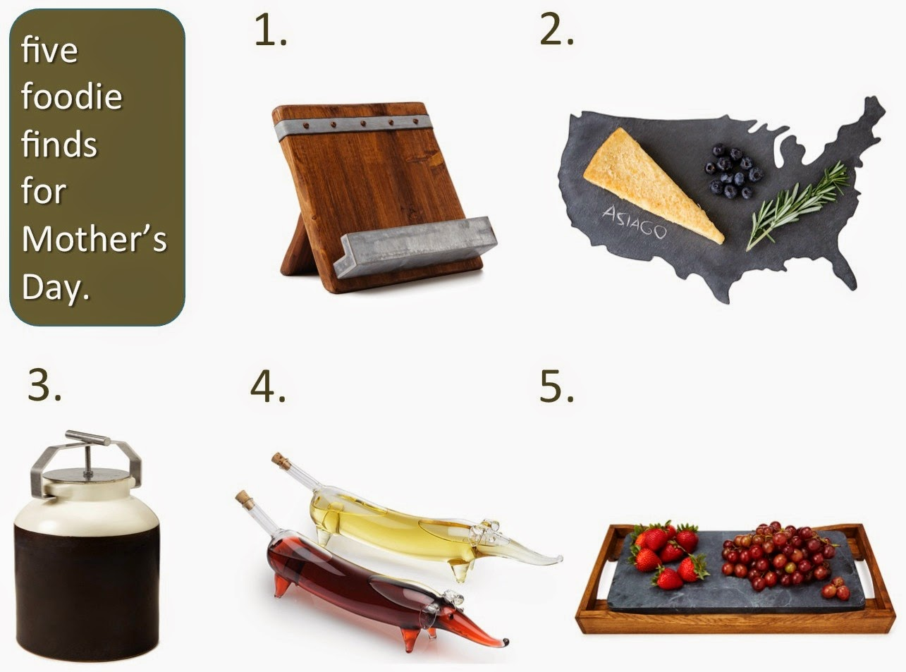 uncommon goods Five Foodie Finds for Mother's Day (c)nwafoodie