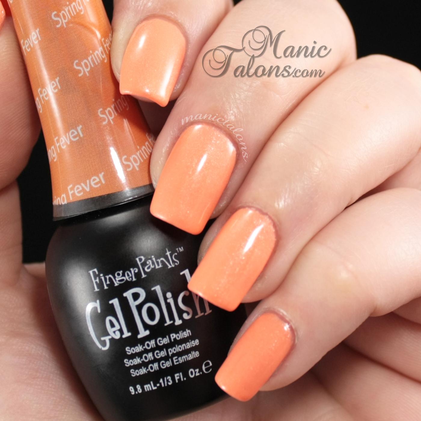 FingerPaints Gel Polish Spring Fever Swatch