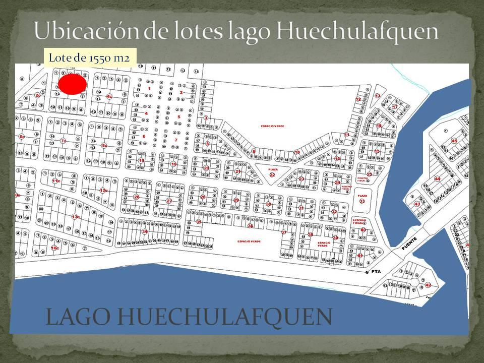 21 Oferta Lote 1550 M2 En Lago Huechulafquen C A S