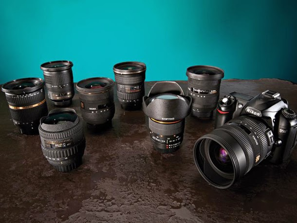 Canon lenses, Nikon Lenses, lenses for DSLR camera, third party lens, tamron lens, tokina lens, sigma lens, zoom lens, wide angle lens