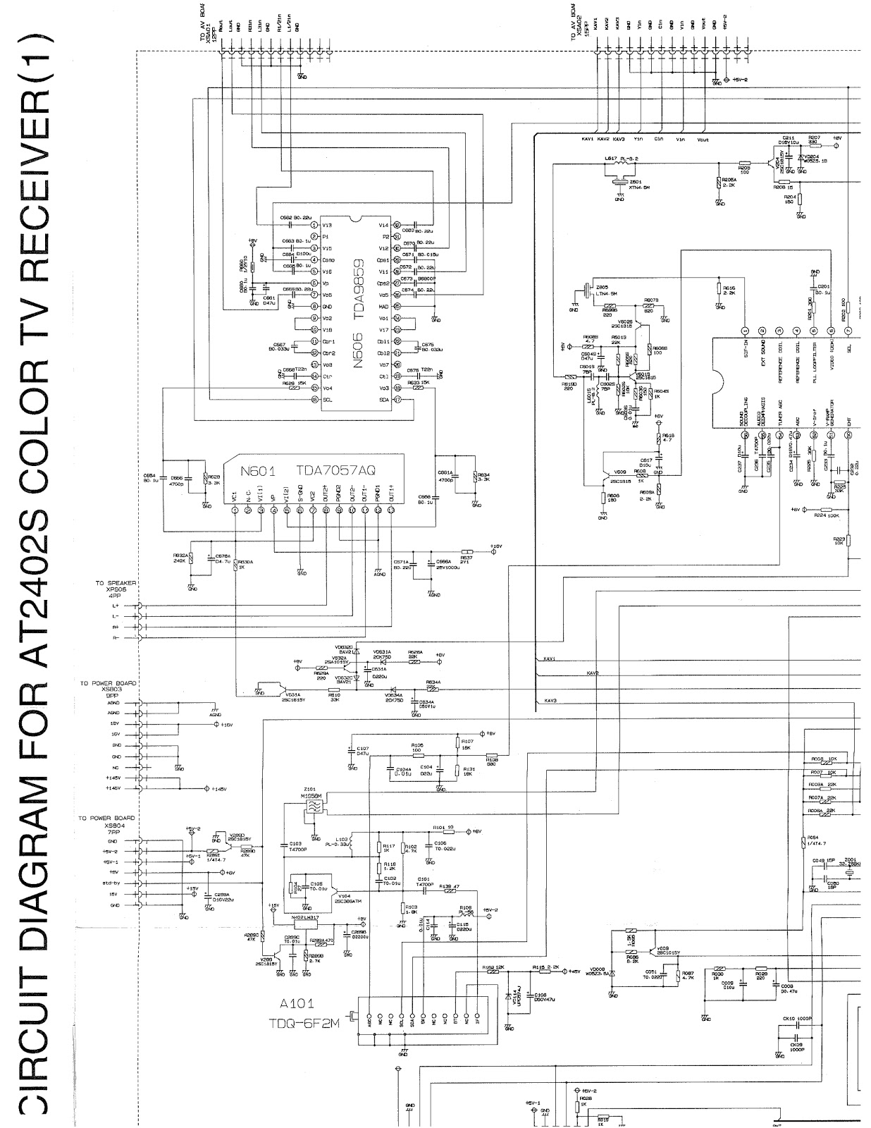 Snap Color Tv Circuit Diagram Pdf And Schematics Lg Cf 25h84 Power Supply Apex At 2402 Schematic Television Electro Help