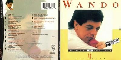 Wando Minha História CD 2015