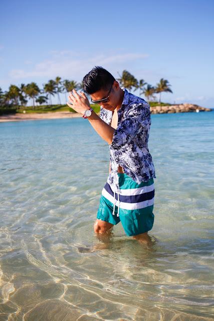 Levitate Style - North Shore Oahu, Hawaii   Summer Style Series feat H&M, Target, Merona, menswear, Aulani Disney