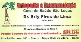 Dr. Erly é a sua opção de saude
