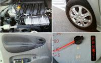 motor llanta tablero interior Renault Scénic 2.0 Privilegie