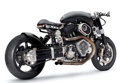Motocicleta Confederate X132 Hellcat Combate