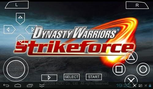 Download Dynasty Warriors Strikeforce PSP