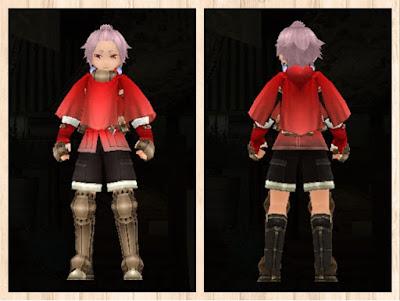 冒険者の服・赤1・男・重量化