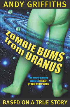 a review of the day my bum went psycho by andy griffiths Andy griffiths the day my bum went psycho isbn 0 330 36292 5 pan macmillan australia gives permission to photocopy text from these notes.