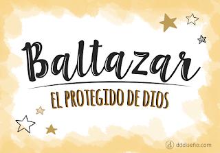 Significado de Baltazar