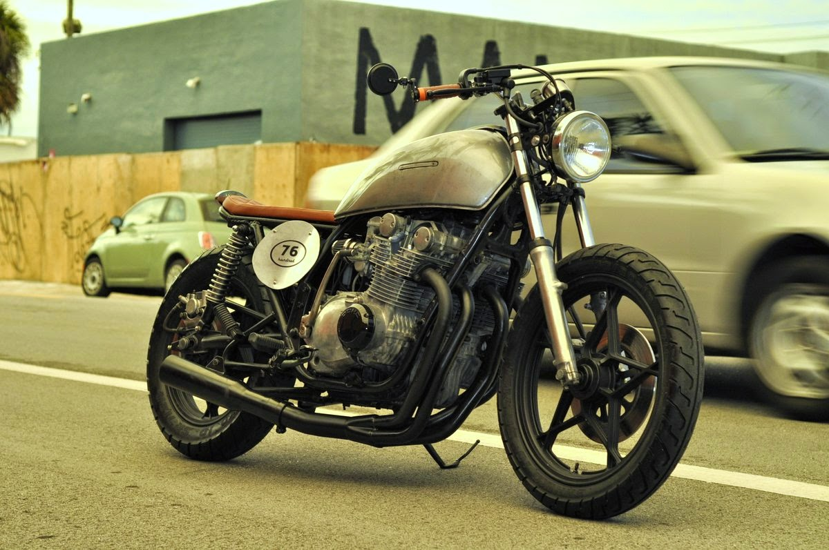 Milchapitas Kustom Bikes     Suzuki GS750 1978 By 76 Hundred