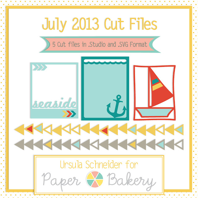 Paper Bakery July KIt Exclusive Cut File
