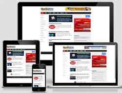 Info Blog, template banner