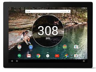 Google Pixel C - Screen view