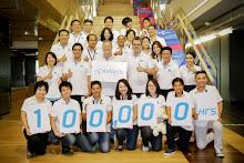 """ดีแทค เปิดตัวโครงการ """"100,000 ชั่วโมง ร่วมกันทำดี"""""""