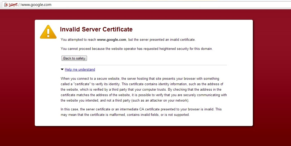 certificate revocation