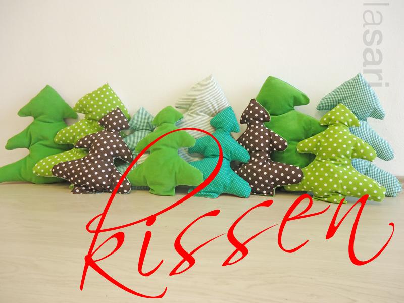lasari design weihnachtsdekoidee tannenbaumkissen. Black Bedroom Furniture Sets. Home Design Ideas