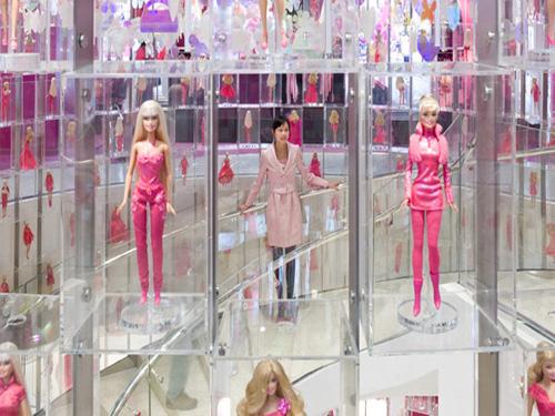 Barbie Toys Stores Interior Design in Shanghai