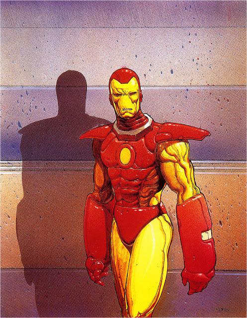 Homem de Ferro - Moebius